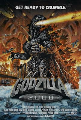 Godzilla 2000 (Gojira ni-sen mireniamu / Godzilla 2000: Millennium) (1999, Japan) movie poster