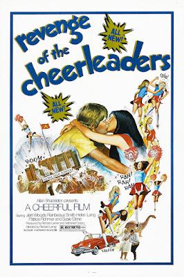 Revenge of the Cheerleaders (1976, USA) movie poster