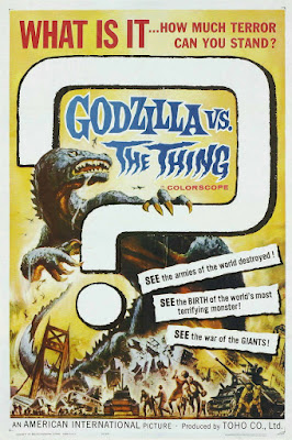 Mothra vs. Godzilla (Mosura tai Gojira, aka Godzilla vs. the Thing) (1964, Japan) movie poster