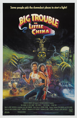 Big Trouble in Little China (1986, USA) movie poster