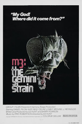Plague (aka 'M-3: The Gemini Strain', 'Induced Syndrome', 'Mutation') (1978, Canada) movie poster