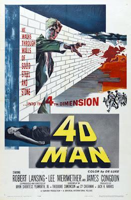 4D Man (aka Master of Terror) (1959, USA) movie poster
