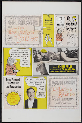 Goldilocks and the Three Bares (1963, USA) movie poster