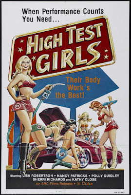 Six Swedes at a Pump (Sechs Schwedinnen von der Tankstelle, aka High Test Girls, aka Swedish Sex Service) (1980, Switzerland) movie poster