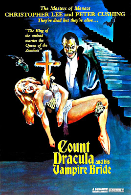 The Satanic Rites of Dracula (aka Count Dracula and His Vampire Bride) (1973, UK) movie poster