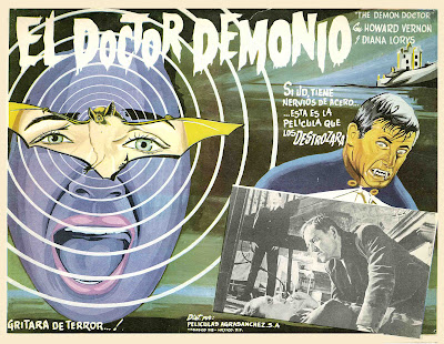 The Awful Dr. Orloff (Gritos en la noche / Screams in the Night, aka The Demon Doctor) (1962, Spain / France) movie poster