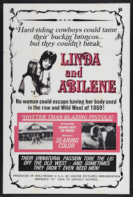 Linda and Abilene (1969, USA) movie poster