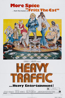 Heavy Traffic (1973, USA) movie poster