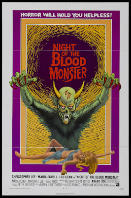 The Bloody Judge (Il Trono di fuoco, aka Night of the Blood Monster) (1970, Liechtenstein / Italy / Spain / Germany) movie poster