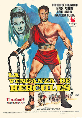 Goliath and the Dragon (La Vendetta di Ercole / Vengeance of Hercules) (1960, Italy / France) movie poster