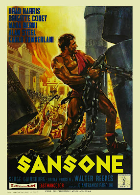 Samson (Sansone) (1961, Italy / France) movie poster