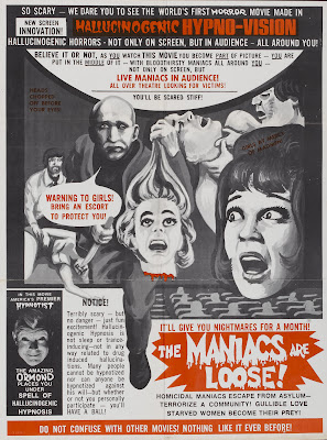 The Thrill Killers (aka Mad Doc Click, aka The Maniacs Are Loose) (1964, USA) movie poster