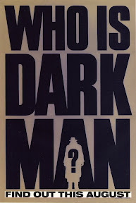 Darkman (1990, USA) movie poster