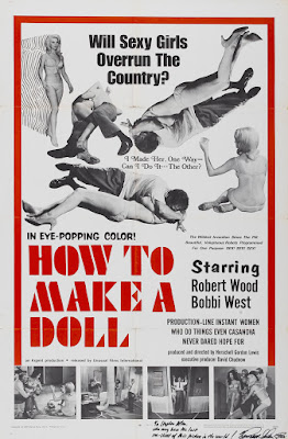 How to Make a Doll (1968, USA) movie poster