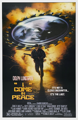Dark Angel (aka I Come in Peace) (1990, USA) movie poster