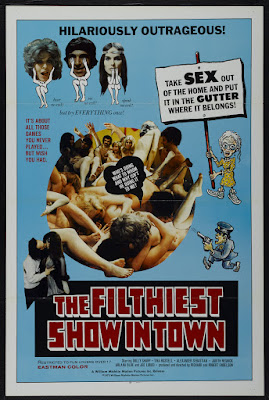 The Filthiest Show in Town (1973, USA) movie poster