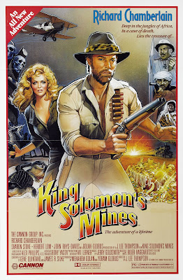 King Solomon's Mines (1985, USA) movie poster