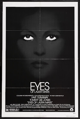 Eyes of Laura Mars (1978, USA) movie poster