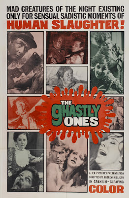 The Ghastly Ones (aka Blood Rites) (1968, USA) movie poster