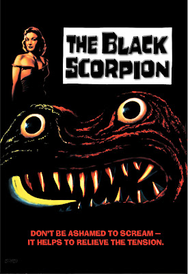 The Black Scorpion (1957, USA) movie poster