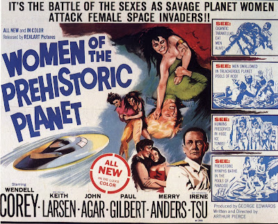 Women of the Prehistoric Planet (1966, USA) movie poster