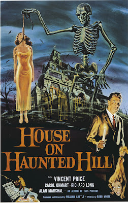 House on Haunted Hill (1959, USA) movie poster