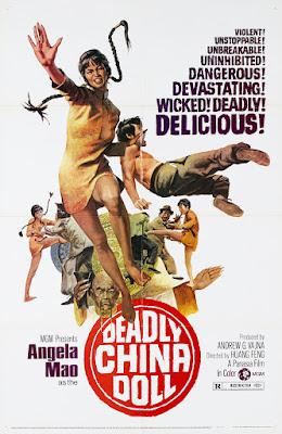 Deadly China Doll (Hei lu) (1972, Hong Kong) movie poster