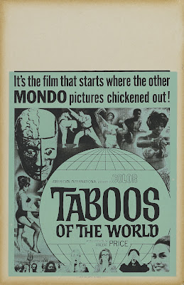 Taboos of the World (I Tabù) (1963, Italy) movie poster