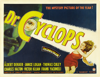 Dr. Cyclops (1940, USA) movie poster