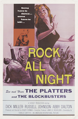 Rock All Night (1957, USA) movie poster