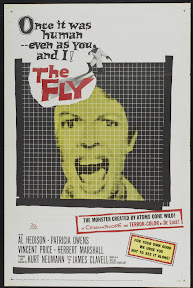 The Fly (1958, USA) movie poster