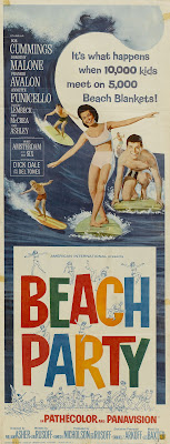 Beach Party (1963, USA) movie poster