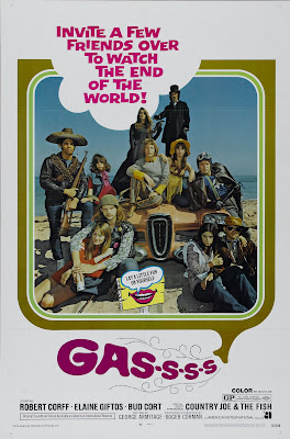 Gas! -Or- It Became Necessary to Destroy the World in Order to Save It. (aka Gas-s-s-s) (1971, USA) movie poster