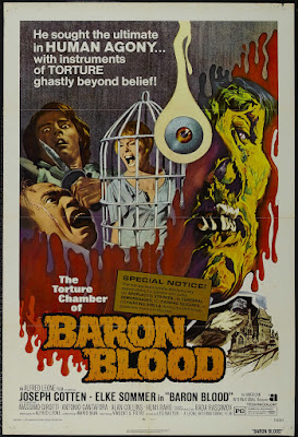 Baron Blood (Gli Orrori del castello di Norimberga / The Horrors of Castle of Nuremberg) (1972, Italy / Germany) movie poster