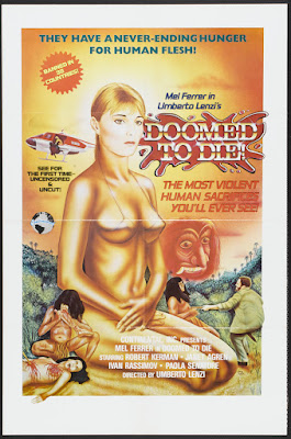 Eaten Alive! (Mangiati vivi!, aka Doomed to Die) (1980, Italy) movie poster