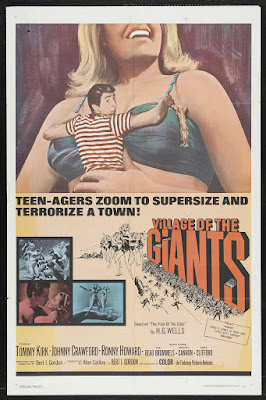 Village of the Giants (1965, USA) movie poster