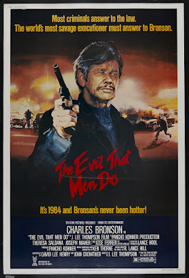 The Evil That Men Do (1984, USA) movie poster