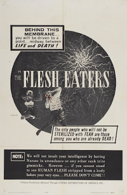 The Flesh Eaters (1964, USA) movie poster