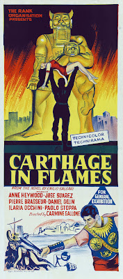 Carthage in Flames (Cartagine in fiamme) (1960, Italy / France) movie poster