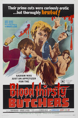Bloodthirsty Butchers (1970, USA) movie poster