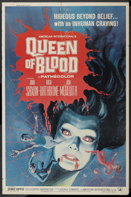 Queen of Blood (1966, USA) movie poster