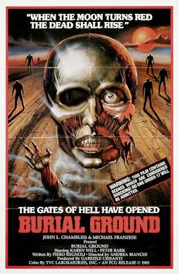 Burial Ground (Le Notti del terrore / Nights of Terror) (1981, Italy) movie poster