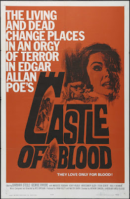 Castle of Blood (Danza macabra) (1964, Italy / France) movie poster