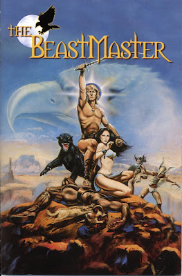 The Beastmaster (1982, USA / Germany) movie poster