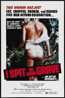 I Spit on Your Grave (aka Day of the Woman, aka The Rape and Revenge of Jennifer Hill) (1978, USA) movie poster
