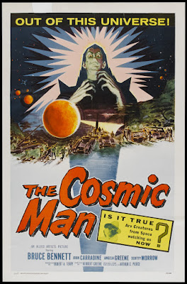 The Cosmic Man (1959, USA) movie poster