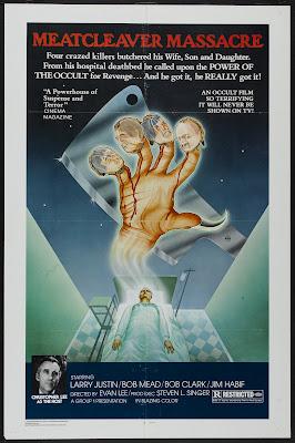 Meatcleaver Massacre (1977, USA) movie poster