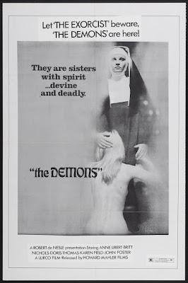 The Demons (Les Démons, aka She-Demons) (1972, France / Portugal) movie poster