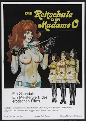 In the Sign of the Lion (I Løvens tegn, aka The Riding School of Madame O) (1976, Denmark) movie poster