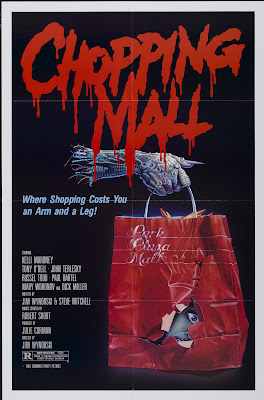 Chopping Mall (Killbots) (1986, USA) movie poster